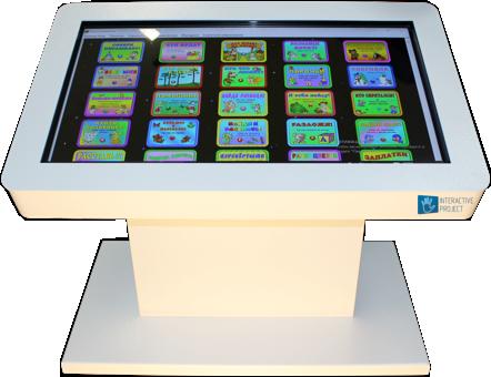 Интерактивный стол для детей — купить по выгодной цене  — Interactive Project